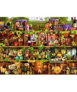 70142 - Puzzle Estantería de vino,Aimee Steward, 2000 piezas, Bluebird