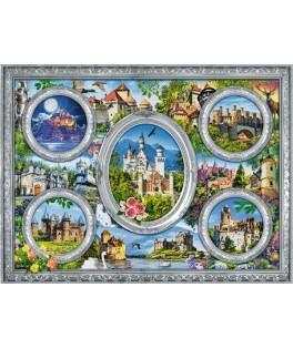 10583 - Puzzle castillos del mundo, 1000 piezas, Trefl