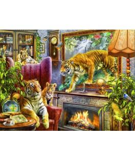 70171 - Puzzle Tigres Volviendo a la Vida, 2000 piezas, Bluebird