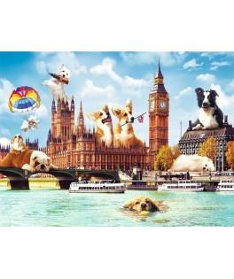 10596 - Puzzle dulce Londres, 1000 piezas, Trefl