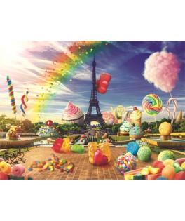 10597 - Puzzle París dulce, 1000 piezas, Trefl