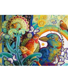 70297 - Puzzle Cesta del Paraiso, 1000 piezas, Bluebird