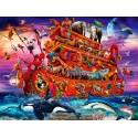70235 - Puzzle El Arca, 1000 piezas, Bluebird