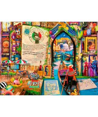 70239 - Puzzle La Vida es un Libro Abierto en París, 1000 piezas, Bluebird