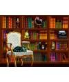 70225 - Puzzle Biblioteca Vintage, 1000 piezas, Bluebird