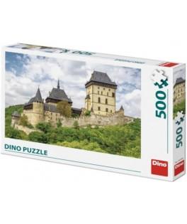 50240 - Puzzle Castillo Karlstein, 500 piezas, Dino