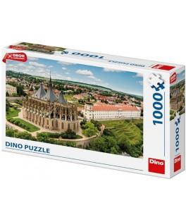 53270 - Puzzle Kutna Hora, República Checa, 1000 piezas, Dino