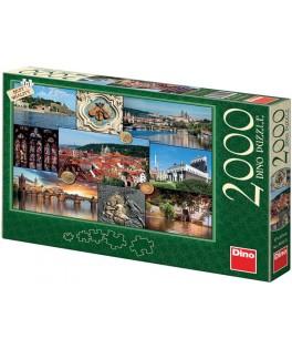 56112 - Puzzle Praga, 2000 piezas, Dino