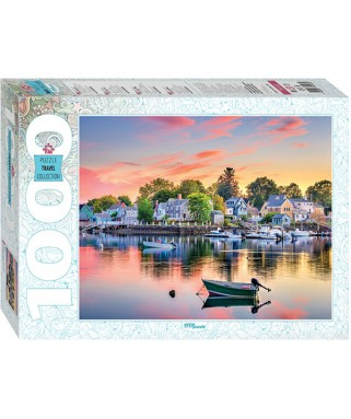 79143 - Puzzle estado de New Hampshire, 1000 piezas, Step Puzzle