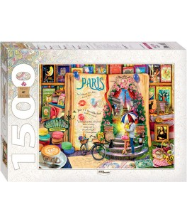 83060 - Puzzle París, Francia, 1500 piezas, Step Puzzle