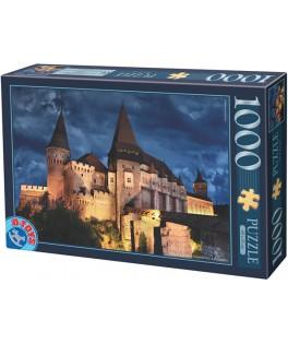 63038MN10 - Puzzle Castollo por la Noche Hunedoara, 1000 piezas, D Toys