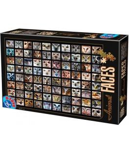 74331 - Puzzle Caras de Buhos, 1000 piezas, D Toys