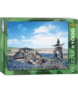 6000-0242 - Puzzle Inukhuk, Canada, 1000 piezas, Eurographics