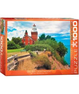 6000-0551 - Puzzle faro Big Bay, Michigan, Estados Unidos, 1000 piezas, Eurographics