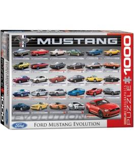 6000-0684 - Puzzle Ford Mustang evolución, 1000 piezas, Eurographics