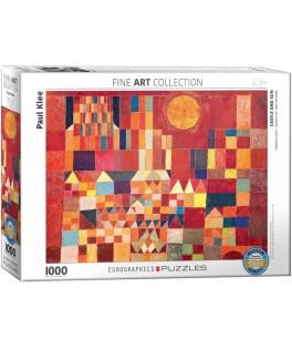 6000-0836 - Puzzle castillo y sol, Paul klee, 1000 piezas, Eurographics