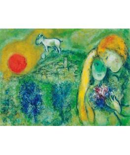 6000-0848 - Puzzle los enamorados de Vence, Marc Changall, 1000 piezas, Eurographics