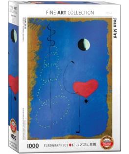 6000-0854 - Puzzle bailarina II, Joan Miró, 1000 piezas, Eurographics