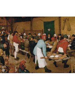 548345 - Puzzle la boda campesina, Pieter Brueghel el Viejo, 1000 piezas, Piatnik