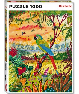 549847 - Puzzle gran guacamayo verde, Alain Thomas, 1000 piezas, Piatnik