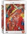 6000-5418 - Puzzle el triunfo de la música, Marc Chagall, 1000 piezas, Eurographics