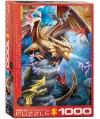 6000-5475 - Puzzle el clan del dragón, 1000 piezas, Eurographics