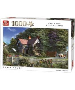 05679 - Puzzle casa de rosas, Dominic Davison, 1000 piezas, king International