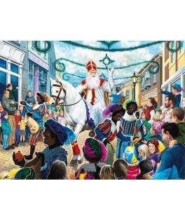 55813 - Puzzle Sinterklaas en los Países Bajos, 1000 piezas, king International