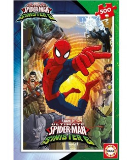 17155 - Puzzle Spiderman, 500 piezas, Educa