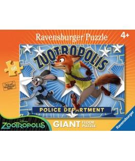 5474 - Puzzle Gigante Zootropolis, 60 piezas, Ravensburger