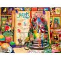 70262 - Puzzle la Vida es un Libro Abierto en París, 4000 piezas, Bluebird