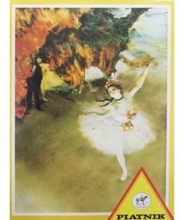 5020 - Minipuzzle la bailarina, Edgar Degas, 54 piezas, Piatnik