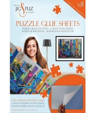 5336 - 8 Láminas Pegamento para Puzzles, Jig and Puzz
