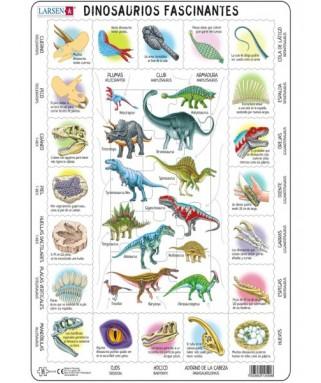 HL9 - Puzzle Dinosaurios, 35 Piezas, Larsen