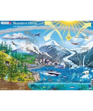NB1 - Puzzle Nuestro Clima, 69 piezas, Larsen