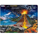 NB2 - Puzzle Volcanes, 70 Piezas, Larsen