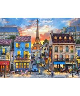52684 - Puzzle Calles de París, 500 piezas, Castorland