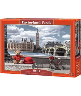 53315 - Puzzle Pequeño Viaje a Londres, 500 piezas, Castorland