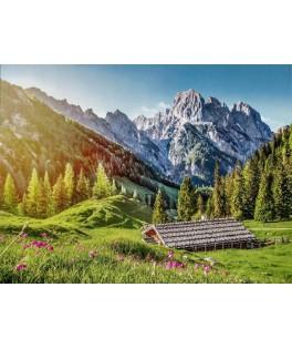 53360 - Puzzle Verano en los Alpes, 500 piezas, Castorland