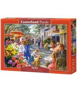 53438 - Puzzle Calle de Sueños, 500 piezas, Castorland