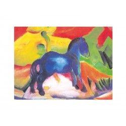 Comprar Minipuzzle Franz Marc –Caballo Azul
