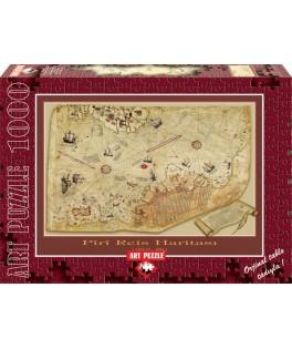 4308 - Puzzle mapa Piri Reis Haritasi, 1000 piezas, Art Puzzle