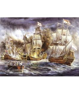 4549 - Puzzle batalla naval, 1500 piezas, Art Puzzle