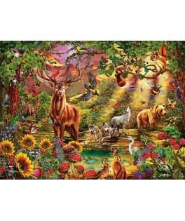 5176 - Puzzle bosque encantado, 1000 piezas, Art Puzzle