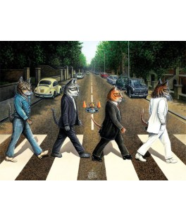 5193 - Puzzle carretera de gato, 1000 piezas, Art Puzzle