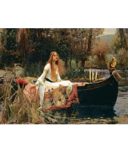 5478 - Puzzle la dama de Shalott, John William Waterhouse, 2000 piezas, Art Puzzle
