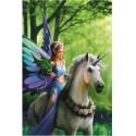 70440 - Puzzle Reino del Encantamiento, 1500 piezas, Bluebird
