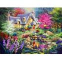 70060 - Puzzle Cabaña en el Estanque, 1500 piezas, Bluebird