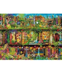 26165 - Puzzle Librería de Hadas, 1500 piezas, Trefl