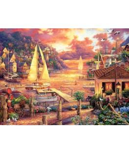 5524 - Puzzle Mar Dorado, Chuck Pinson, 3000 piezas, Art Puzzle